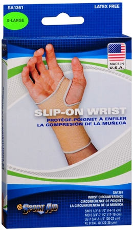 Sport Aid Slip-On Wrist Support XL 1 Each [763189016735]