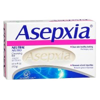 Asepxia Neutral Cleansing Bar Soap 4 oz [650240027079]