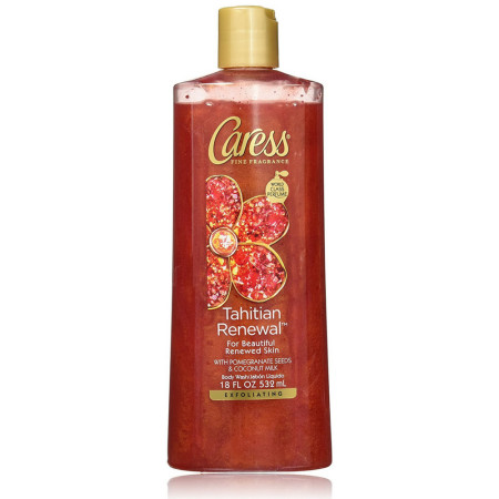 Caress Tahitian Renewal Silkening Body Was 18 oz [045893105616]