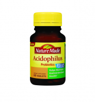 Nature Made Acidophilus Probiotics Tablets 60 ea [031604027612]