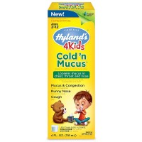 Hyland's 4 Kids Cold'n Mucus Relief Liquid 4 oz [354973317918]