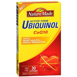 Nature Made Ubiquinol CoQ10 100 mg, Softgels 30 ea [031604028503]