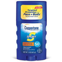 Coppertone Sport Sunscreen Stick Broad Spectrum SPF 50 1.5 oz [041100006172]