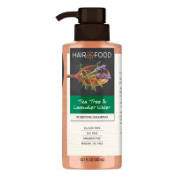 Hair Food Tea Tree & Lavender Water Purifying Shampoo 10.1 oz [037000821267]
