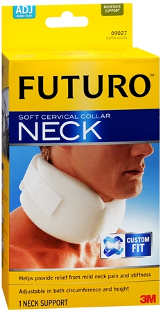 FUTURO Soft Cervical Collar Neck, Adjustable 1 ea [382252726007]