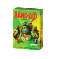 BAND-AID Adhesive Bandages, Teenage Mutant Ninja Turtles, Assorted Sizes 20 ea [381371157891]