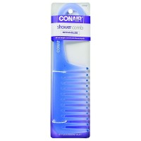Conair Brush Shower Comb 1 ea [074108133854]