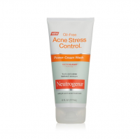 Neutrogena Acne Stress Control Oil-Free Power-Cream Wash 6 oz [070501053409]