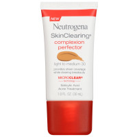 Neutrogena Skinclearing Complexion Perfector With Salicylic Acid, Light - Medium 1 oz [086800437512]