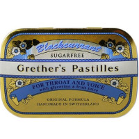 Grether's Sugarless Black Currant Pastilles 3.75 oz [742381010871]