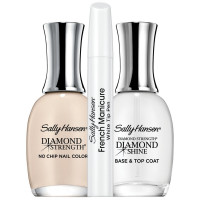 Sally Hansen Diamond Strength French Manicure Pen Kit, Barely There 3 ea [074170451429]