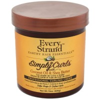 Every Strand Simply Curls With Coconut Oil & Shea Butter Professional Curling Creme 15 oz [815426004163]