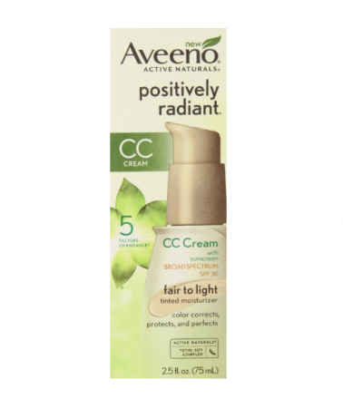 AVEENO Active Naturals Positively Radiant Tinted Moisturizer SPF 30 Fair to Light 2.50 oz [381371018482]
