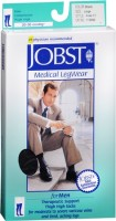 JOBST Medical LegWear For Men Knee High Socks 20-30 mmHg Black Large 1 Pair [035664150907]