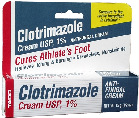 Taro Clotrimazole Cream 0.50 oz [351672200213]