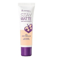 Rimmel Stay Matte Foundation Light Porcelain 1 oz [3607342675735]