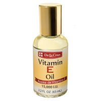 De La Cruz Vitamin E Oil 2.2 oz [024286155308]