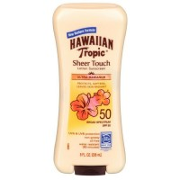 Hawaiian Tropic Sheer Touch Sunscreen SPF 50 Plus 8 oz [075486087609]