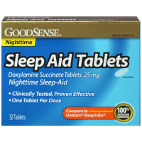 Good Sense Sleep Aid Doxylamine Succinate Tablets 25mg 32 ea [070030131869]