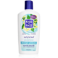 Kiss My Face Early-to-Bed Shower Gel, Clove & Ylang Ylang 16 oz [028367830627]