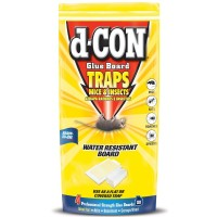 d-CON Rodenticide Rodent Mouse Glue Board, 4 ct [019200902038]