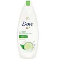 Dove Go Fresh Body Wash, Cool Moisture, Cucumber & Green Tea 12 oz [011111121140]