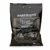 Jakemans Throat & Chest Lozenges, Anise Menthol 30 ea [0895164002560]
