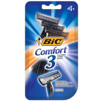 Bic Comfort 3 Sensitive Disposable Shaver 4 ea [070330711952]