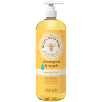 Burt's Bees Baby Bee Shampoo & Wash, Fragrance Free  21 oz [792850015418]