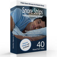 Stuffy Nose Solutions Snore Strips 40 ea [868480000244]