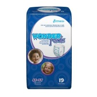 Toddler Training Pants WonderPants Pull On 4T - 5T Disposable Heavy Absorbency - 19 ea [090891202072]