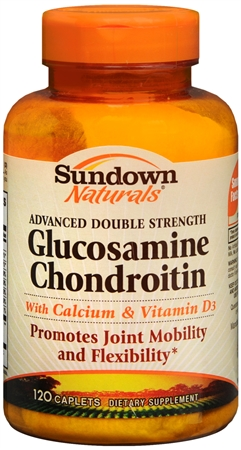 Sundown Glucosamine Chondroitin Caplets Double Strength Advanced Formula 120 Caplets [030768037499]