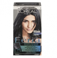 L'Oreal Paris Feria Midnight Collection Multi-Faceted Shimmering Color, Soft Blue Black [M31] 1 ea [071249192498]