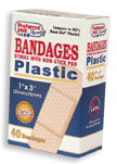 Bandages Adhesive Sterile with Non-Stick Pad 1 Inch X 3 Inches 40 ea [616784368795]
