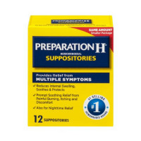 Preparation H Hemorrhoidal Suppositories 12 ea [305732883113]