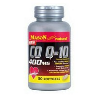 Mason Natural Co Q-10 400 mg Softgels 30 ea [311845168184]