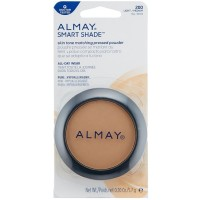 Almay Smart Shade Skin Tone Matching Pressed Powder, Light/Medium [200] 0.20 oz [309976038025]