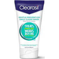 Clearasil Gentle Prevention Daily Clean Wash, 6.5 oz [839977005349]
