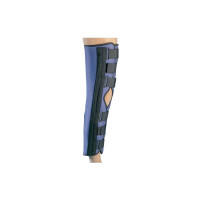 "ProCare 79-80025 Super Knee Splint, Medium, 16"" - 19"" Thigh Circumference, 20"" Length Left or Right Knee - 1 ea [888912026741]"