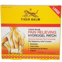 Tiger Balm Patch Large 4 Each [039278323009]