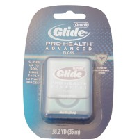 Oral-B Glide Pro-Health Advanced Floss, Fresh Mint 38.20 Yards [037000299721]