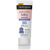 Neutrogena Pure & Free Baby Sunscreen Lotion SPF 50 3 oz [086800110828]