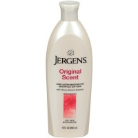 Jergens Original Scent Dry Skin Moisturizer with Cherry Almond Essence 10 oz [019100109933]