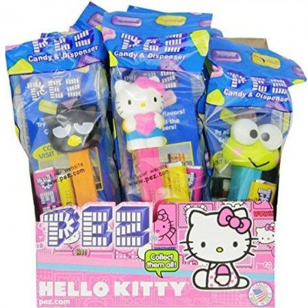 PEZ Hello Kitty Candies Case, 12 ea [073621008151]