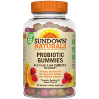 Sundown Naturals Probiotic Gummies 60 ea [030768742676]