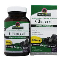 Nature's Answer Activated Charcoal Natural Origin Vegetarian Capsules 90 ea [083000164675]