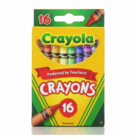 Crayola Classic Color Pack Crayons 16 ea [071662000165]