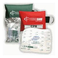 CPR Shield With Key Ring Pouch, Disposable 1 ea [189365000815]