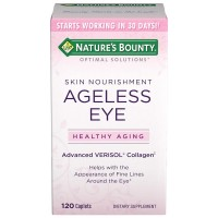 Nature's Bounty Optimal Solutions Ageless Eye Verisol Collagen Caplets 120 ea [074312647871]