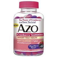 AZO Cranberry Gummies Urinary Tract Health, Mixed Berry 40 ea [787651760094]